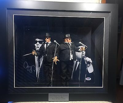 Blues Brothers - Signed  Photo+Action Figures Framed
