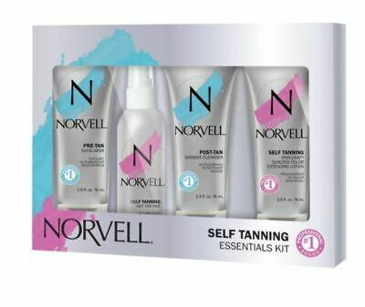 Norvell Amber Sun Sunless Tan Preparation & Maintenance Kit