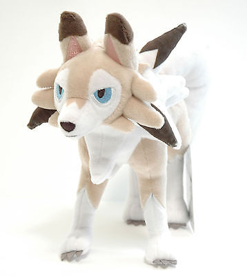 Pokemon Center Original Plush Doll Lycanroc (Lugarugan) Midday 4521329209715