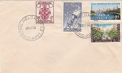ST292) Nice Australian Pre-Decimal First Day Cover (see images)