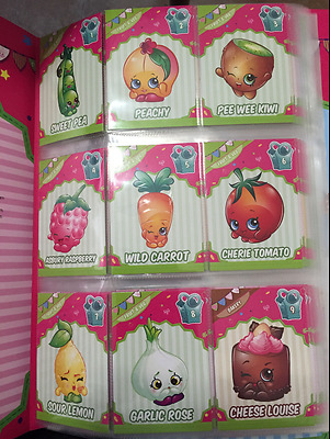 "Shopkins Season 3 Collector Cards ""COMPLETE SET""  Album ! NEW"