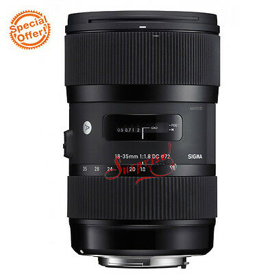 Sigma art 18-35mm F1.8 DC HSM For Nikon Lens Brand New