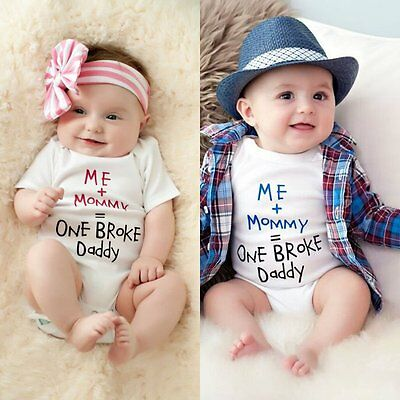 Newborn Baby Boys Girls Ruffles Romper Bodysuit Playsuit Outfits Clothes 0-24M