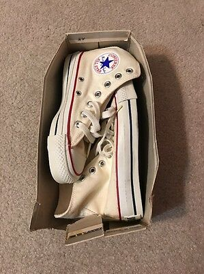 Converse All Star Chuck Taylor Vintage MADE IN THE USA HI TOP 1.5 1 1/2