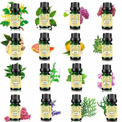 Pure Essential Oils 10ml Therapeutic Grade Aromatherapy Free Shipping PC