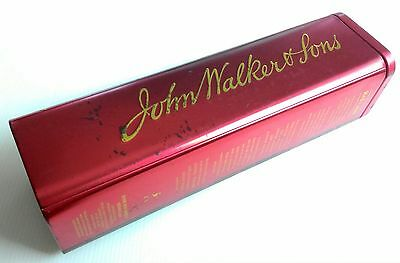 Freeship Johnnie Walker&son Red Label Old Empty Tin Box Scotch Whisky Collection