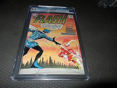 The Flash 117 CGC 8.0 VF, 1st Captain Boomerang, Suicide Squad (DC 1960)