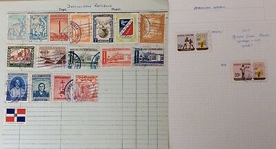 Dominican Republic Stamp Collection, 1949 Onwards