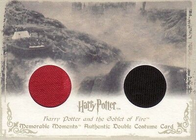 Harry Potter Memorable Moments 1 Cedric Diggory's DC5 Dual Costume Card