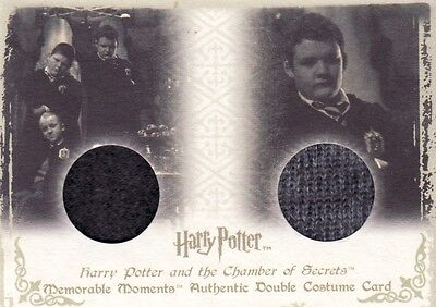 Harry Potter Memorable Moments 1 Gregory Goyle DC4 Dual Costume Card b