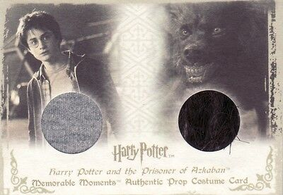 Harry Potter Memorable Moments 1 Harry's Shirt & Grim Fur PC3 Prop Costume Card