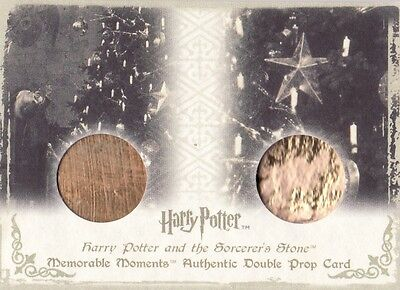 Harry Potter Memorable Moments 1 Christmas Ornaments DP1 Dual Prop Card