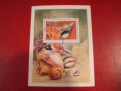 Grenada - Sea Shell - Minisheet - Unmounted Used - Excellent Condition