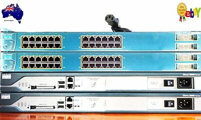2 x Cisco 2811 Routers 2 x 3550 Layer 3 PoE Switches, WIC-2T Cards, CCNA Lab