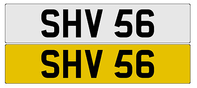 SHV 56 - Cherished Number Plate - Private Plate - Number Plate