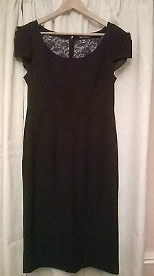 Black ladies dress size 12 Marks and Spencer Autograph