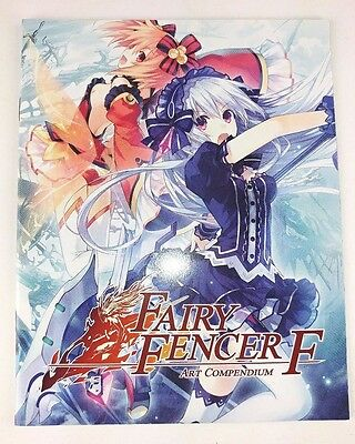 FAIRY FENCER F Visual Art Illustration Compendium Book - Limited Edition