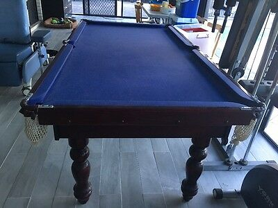 Solid 7ft X 4ft Pool/Snooker Table