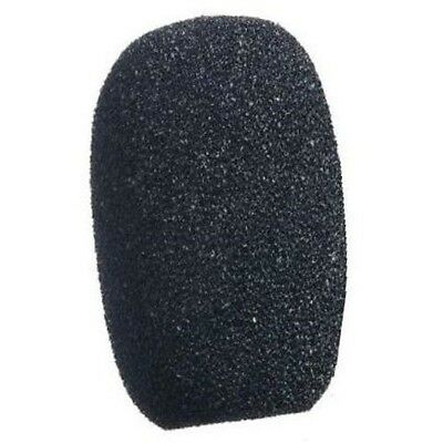 Headset Microphone Windshield Cover Sponge Black 10mm Small Microphone Filter