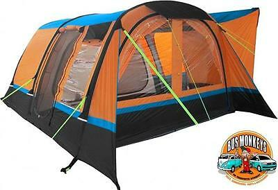 Olpro Cocoon Breeze Large Inflatable Drive Away Air Awning Orange/black