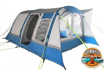 Olpro Cocoon Breeze Large Inflatable Drive Away Air Awning Blue/grey