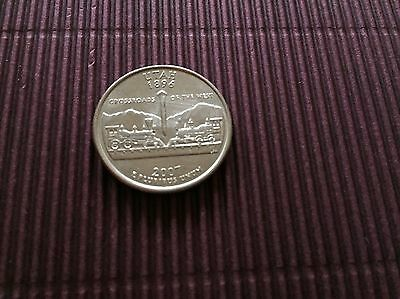 United States Commemorative Quarter Dollar Coin Utah 2007 Mint 25Cents