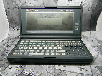 HP200LX 2MB German Palmtop Computer