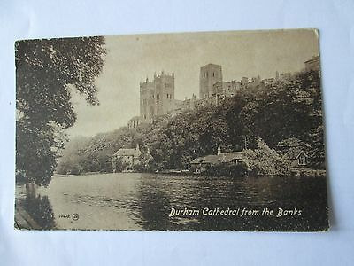 Postcard of Durham Cathedral from the banks (unposted Valentine's)