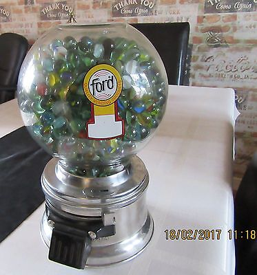 Vintage 1950's Ford Gumball Machine Vending Machine