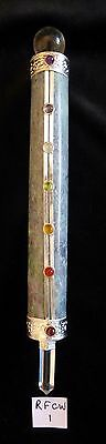 Ruby in Fuchsite Healing Wand with 7 Chakra Cabuchons - 215mm - 250gms