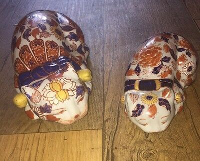 2 Lovely Chinese Cats .floral Design