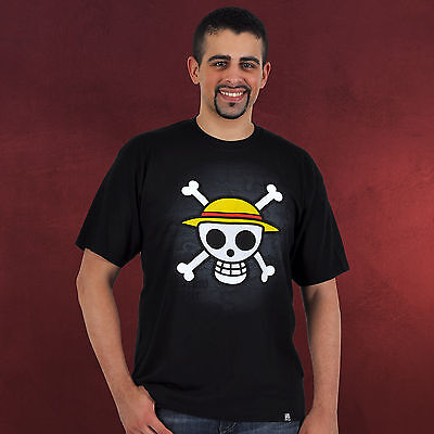"ONE PIECE - Tshirt ""Skull with map"" (S)"
