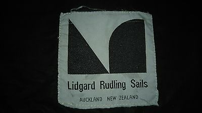 Mainsail from a 29ft boat luff 8.84m leach 9.41m foot 3.66m