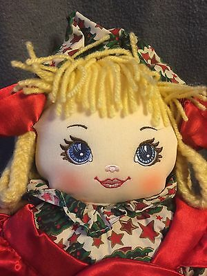 """1995 Sweetie Mine Christmas 21"""" Ragdoll-EXCELLENT CONDITION! CUTE DOLL"""