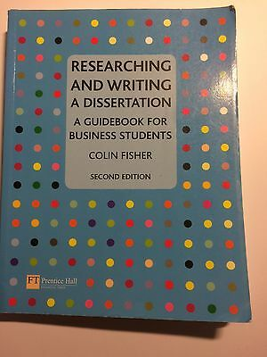 Researching and Writing a Dissertation for Business ..., Fisher, Colin Paperback