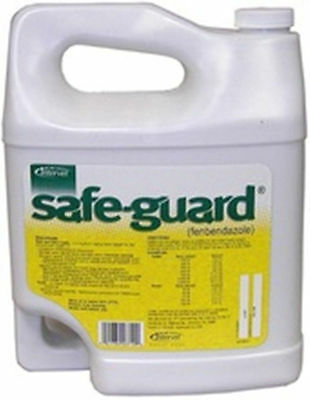 Safe-Guard Oral Drench Wormer Cattle Goats Gallon Dewormer