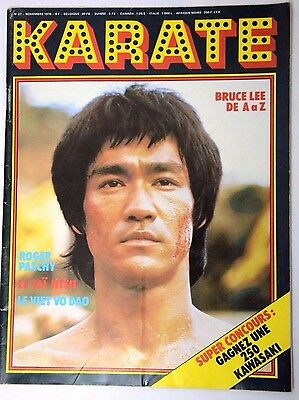 KARATE BRUCE LEE  Magazine REVISTA  French Karate FRANCES nº 27  1976