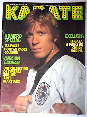 KARATE   Magazine REVISTA  French Karate Georges  Beutter Chuck Norris Lee 1976