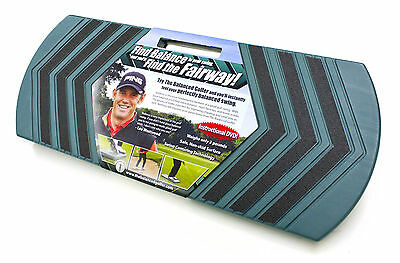 """""""The Balanced Golfer"""" swing training aid to find the fairway everytime"""