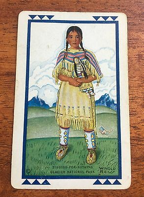 GREAT NORTHERN Singing for Nothing playing card