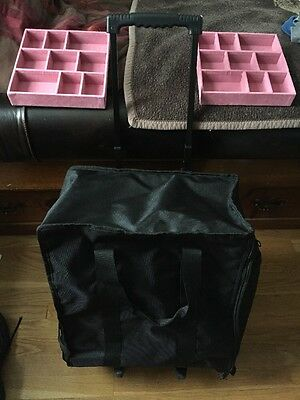 Jewelry Carrying Case With Wheels