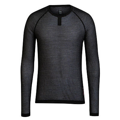 Rapha Merino Mesh Base Layer Black Long Sleeve Size Medium BNWT