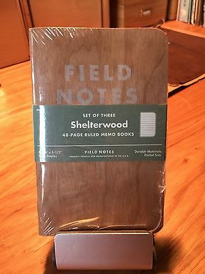 Field Notes Shelterwood Sealed 3-Pack