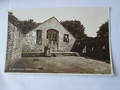 Postcard of St Mary's Church, Pateley Bridge  RP Unposted