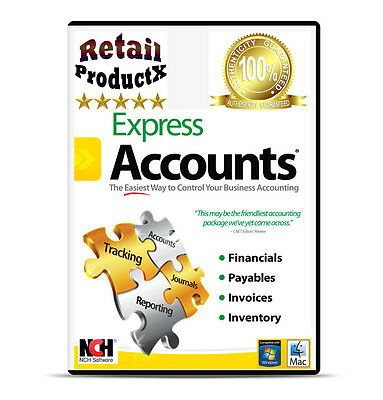Express Accounts Easy Accounting Financial Bookkeeper Billing Invoicing software
