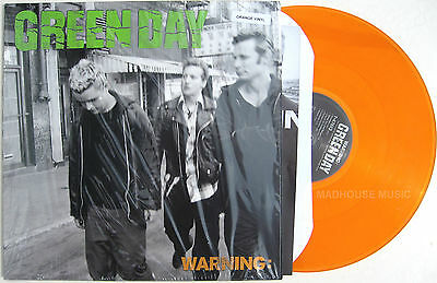 GREEN DAY LP Warning CLEAR ORANGE VINYL Official 250 Made SEALED New Minority