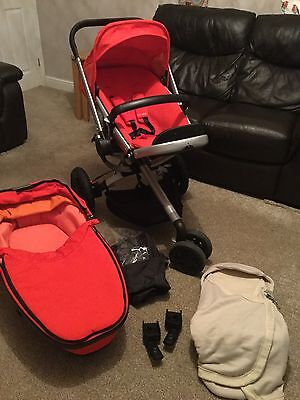 Quinny Buzz 3 Pushchair In Red