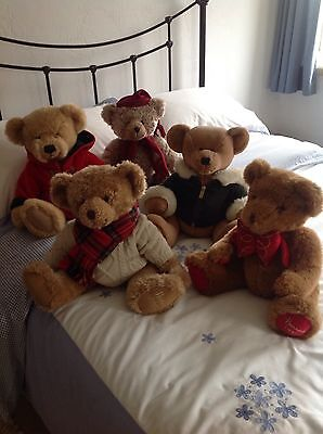 Harrods Teddy Bears - Immaculate Condition £12 EACH Or £50 For All 5