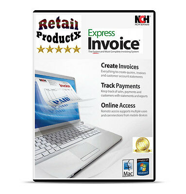 Express Invoice - Billing Invoicing Business Finance Software Windows & Mac