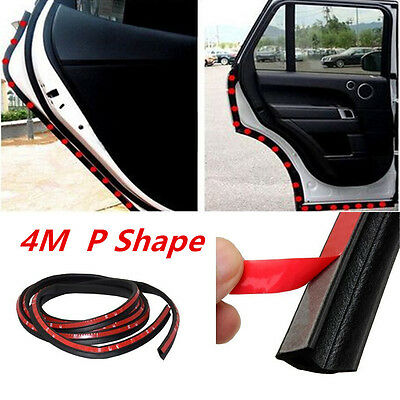New 4 M P-Type Car Truck Van Door Rubber Seal Hollow Strip Weatherstrip Sealing